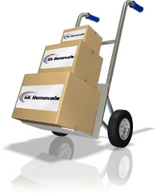 GK Removals - Courier and delivery services